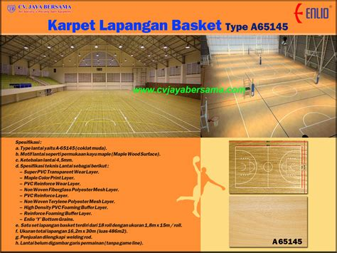 Karpet Volly basket distributor olahraga
