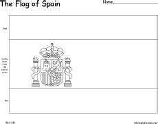 flag of spain enchantedlearning com