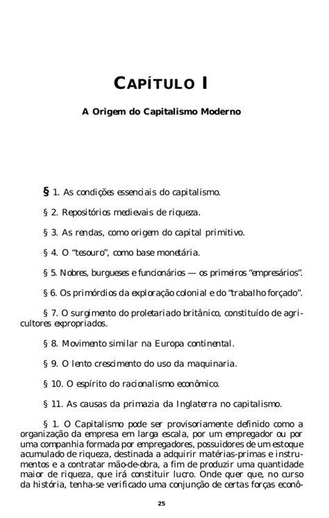 John a hobson a evolucao do capitalismo moderno (os