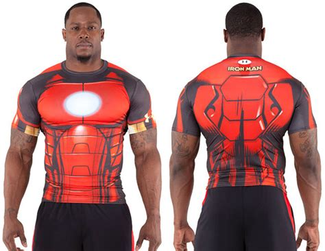 Kaos Armour Ironman Alter Ego Ironman armour alter ego iron compression shirt