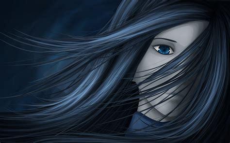 wallpaper blue eyes hd anime blue eyes girl wallpaper full hd pictures