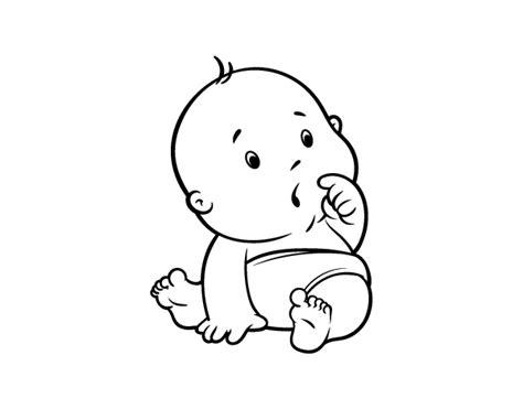 imagenes tumblr png para colorear dibujo de beb 233 sorprendido para colorear dibujos net