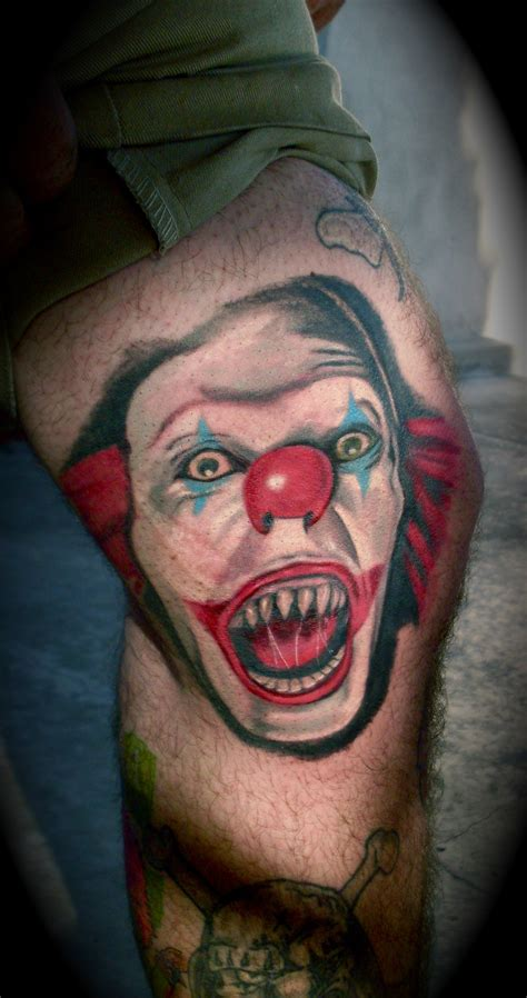 pennywise tattoo new pennywise benmillertattoo s