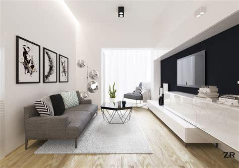 Modern Livingroom by Alsemberg Modern Living Room Brussels By Zr Architects