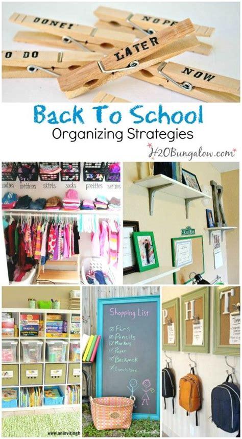 organization tips for school back to school organizing ideas new school year closet