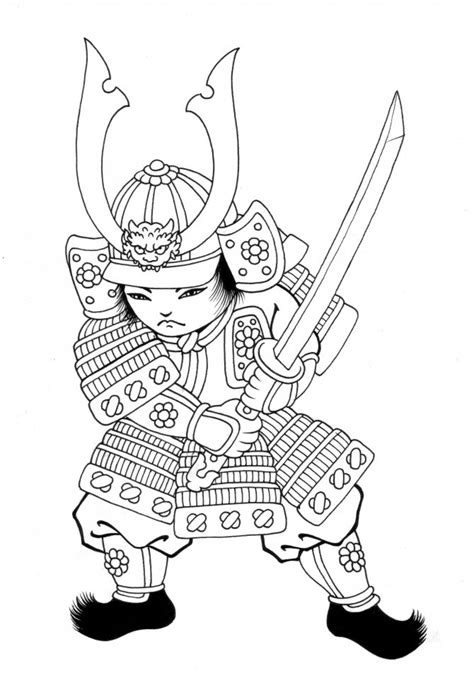 Samurai Coloring Pages mike the power ranger coloring pages