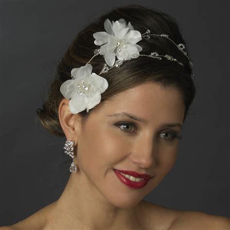Rhinestone Flower Headpiece flower rhinestone bridal headpiece