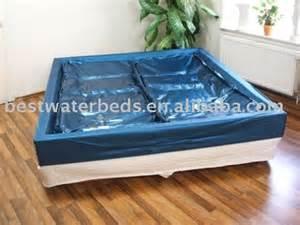 matelas duel lat 233 ral mou de lit d eau d 233 toile bleue