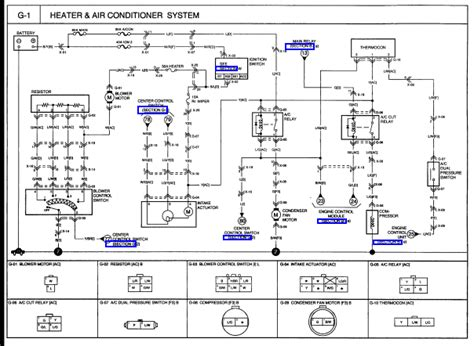 2007 kia wiring diagrams 2007 kia blower motor wiring