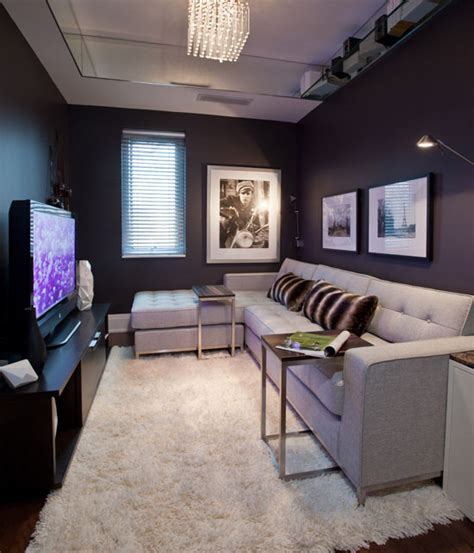 Small Living Room Ideas With Tv Small Den On Pinterest Small Media Rooms Small Tv Rooms And Tv Tables