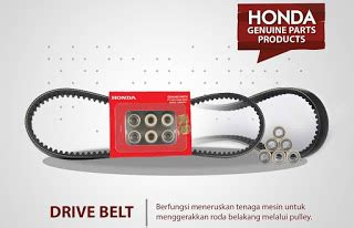 Belt Beat Fi Ahm v belt motor matic streng motor matic v belt honda