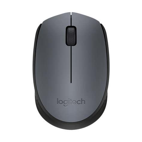 Logitech M171 Mouse Wireless Grey jual logitech m171 grey wireless mouse harga