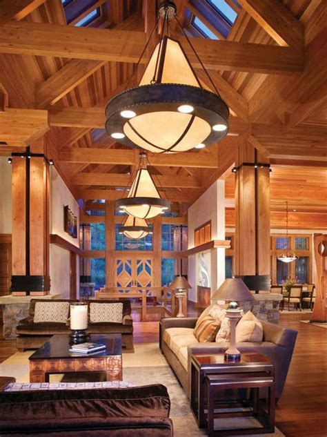 living room decor designs 47 extremely cozy and rustic cabin style living rooms