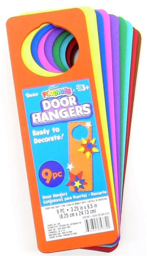 buy foamies door hangers for less