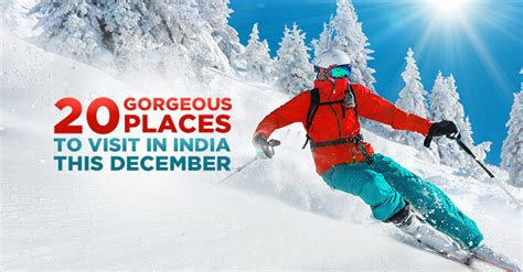 places  visit  india  december