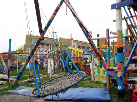 Cool playgrounds! Where whimsy abounds