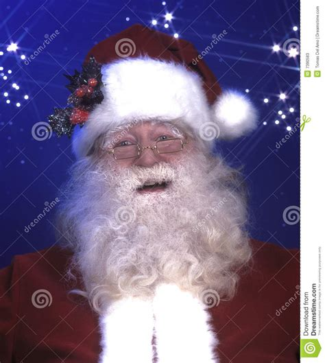 smiling santa claus stock image image of christmas