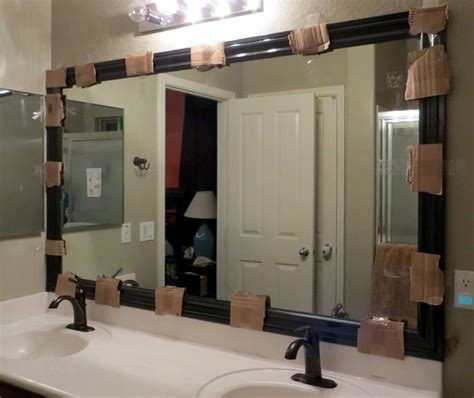 Mirror Trim For Bathroom Mirrors Best 25 Framing A Mirror Ideas On Pinterest Framed Bathroom Mirrors Framing Mirrors And