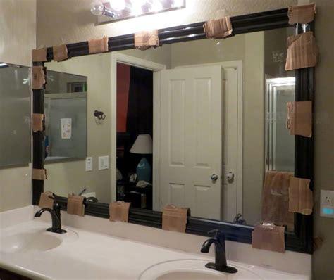 best 25 framing a mirror ideas on framed