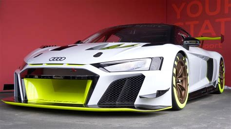 audi  lms gt race car hints   future extreme