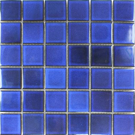 blue mosaic tile ceramic mosaic tiles blue uni backsplash www mosafil co uk