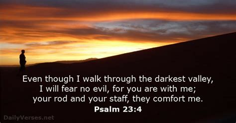 your rod and your staff comfort me psalm 23 4 bible verse of the day dailyverses net