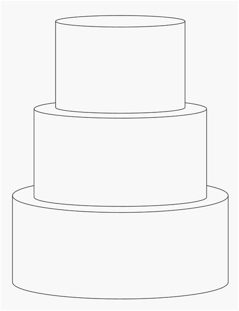 template for cake 3 tier cake template math programs sheet