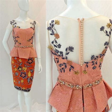 Dermona Batik Peplum Mini Dress inspiration dress style i wish for