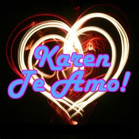 imagenes te quiero karen karen y cesar love for ever