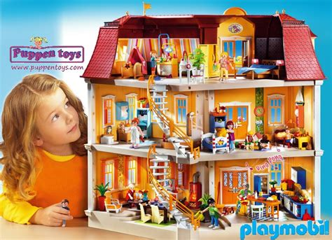 play mobile doll house my big doll house 5302 playmobil juguetes puppen toys