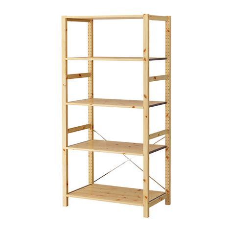 ikea wooden shelving ivar shelving unit pine 89x50x179 cm ikea