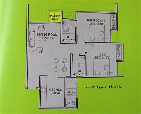 2 bhk apartment floor plans residential apartments in gift city for sale price 4500