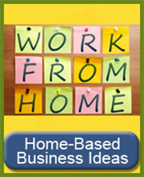 Small Business Ideas You Can Start From Home From Home Business Ideas Home Daycare Business Code Basic