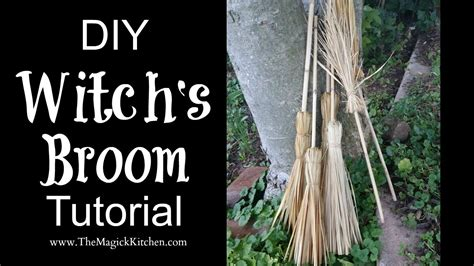 Witch S diy witch s broom tutorial