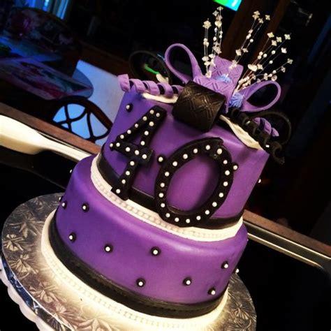 40th Birthday Cakes by 40th Birthday Cake Cake By Nicolle Casanova Cakesdecor