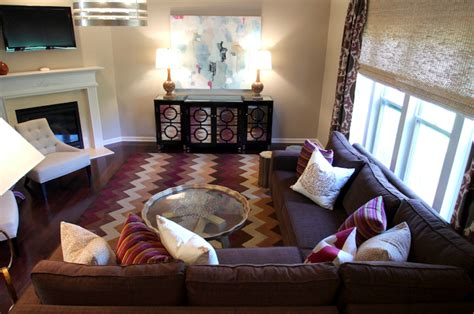 purple and brown living room purple and brown living room contemporary living room