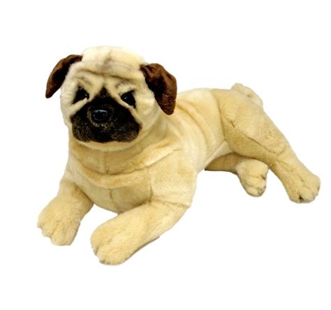 Kaos Teddy pug fawn soft plush 16 quot 40cm stuffed animal kaos