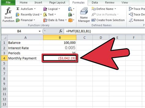 Credit Cost Formula Banks How To Calculate A Monthly Payment In Excel 12 Steps
