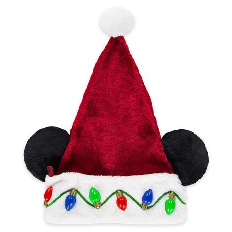 disney christmas tree hats disney santa hat mickey mouse light up