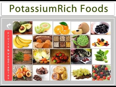 fruit high in potassium potassium rich foods and fruits and vegetables need of