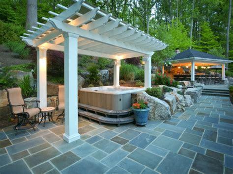 patio spa tub enclosure ideas tub patio ideas outdoor