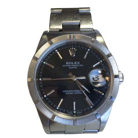 montre rolex homme oyster perpetual date valois vintage