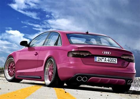 pink audi audi pink cars cars cars