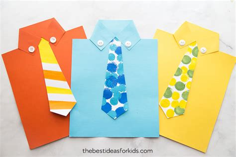 shirt card template fathers day crafts the best ideas for