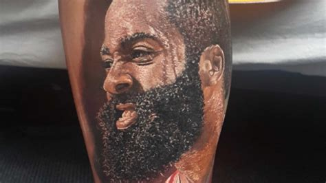 james tattoo harden tattoos