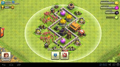 layout coc untuk th 3 coc th3 base myideasbedroom com