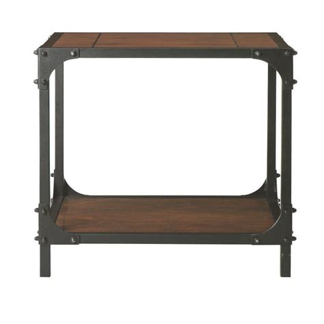 home decorators collection industrial empire black end