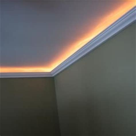 indirect lighting or rope lighting installed in a