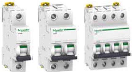 Schneider Mcb Ic60n 1phase 25amcb Ic60n 6ka Schneider schneider acti 9 ic60 one phase ac miniature circuit breakers mcb tripplebar