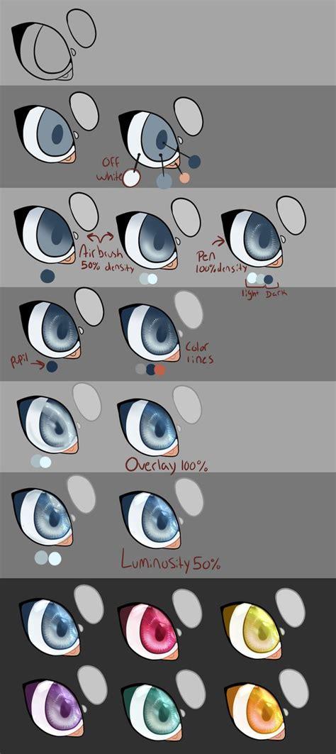paint tool sai eye tutorial paint tool sai eye tutorial by r3llo on deviantart